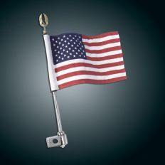 "12"" FLAG POLE 1/2"" CLAMP W/ FLAG"
