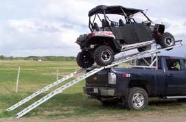 Aluminum Over-Box/Over-Cab  Riser Unit for 4-seater UTVs