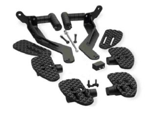 COMPLETE FLOORBOARD & HIGHWAY PEGS BRP SPYDER RS AUTOMATIC 08-13