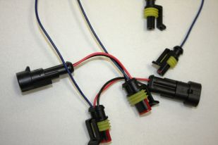 Custom Dynamics Amber/White Turn Signal Harness