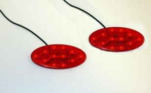 Custom Dynamics  Red RS/ST Rear Brightsides