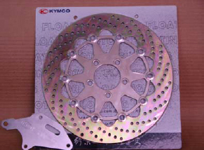 KYMCO Big Disk Brake Kit - Gold