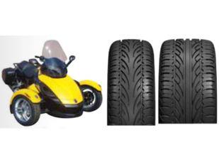 Rear VTR-350 Arachnid REAR Tire for Can Am-BRP Spy