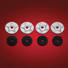 STARWASHER 4PK WITH RUBBER