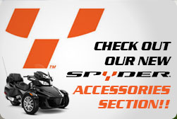 Can Am Spyder Accessory Sales