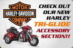 Harley Davidson Tri-Glide Motorcycle Accessory Sales