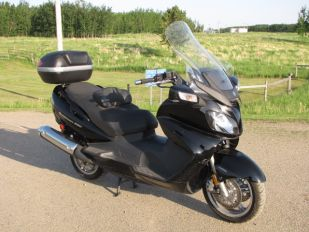2010 Suzuki Burgman 650 Executive