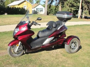 2009 Honda Silverwing 600 Trinity Scooter Trike