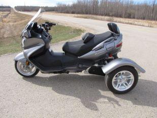 2009 Suzuki Burgman 650 Executive Trinity Trike