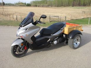 2012 KYMCO Xciting 500 RI Custom Trike