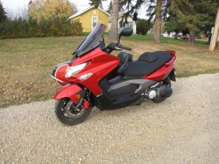 2012 KYMCO Xciting 500Ri ABS Scooter w/ Brand New Cozy Euro Sidecar
