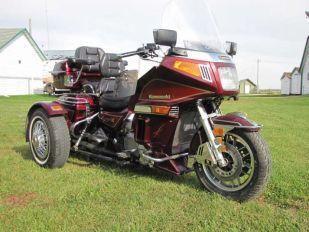 1986 Kawasaki Voyager 1200 w/ Bolt on Trike Kit
