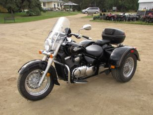 2004 Suzuki VL800 Volusia Lehman Romani Trike