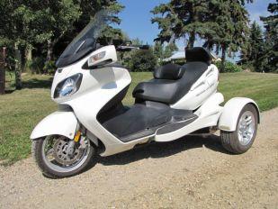 2006 Suzuki Burgman 650 Yelvington Trike