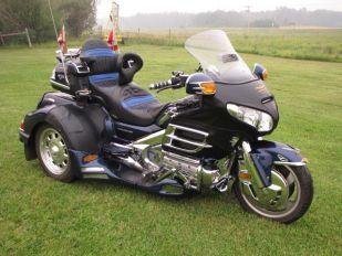 2007 Honda GL1800 Lehman Monarch II Trike