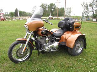 2008 Harley Davidson Dyna Super Glide Custom Lehman Renegade Trike
