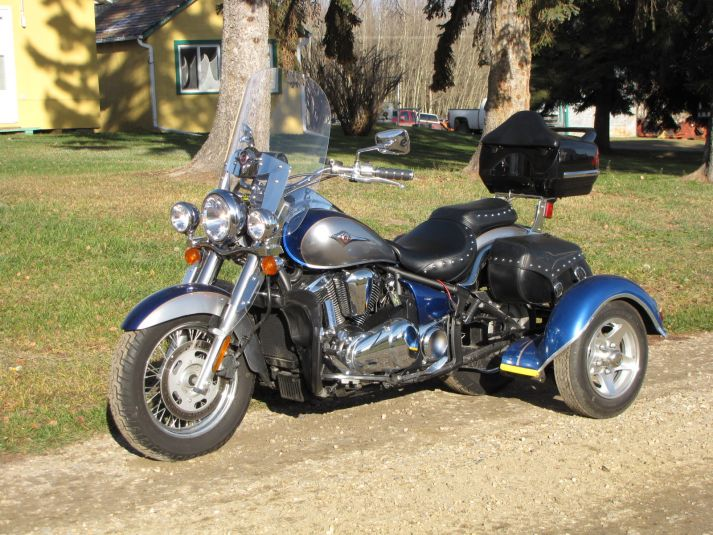 Kawasaki Trikes for Sale - New & Used