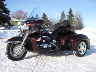 2008 Yamaha Royal Star Venture Hannigan Trike