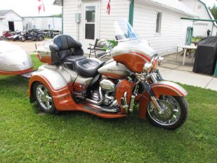 2009 Harley Davidson Screamin Eagle CVO Ultra Classic Lehman Renegade Trike